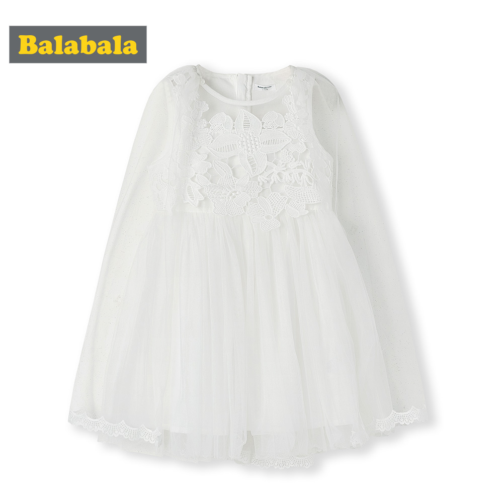Balabala2019 été fille robe décontracté Cartoon enfants robe coton à manches courtes enfants robes pour filles mode enfants vêtements