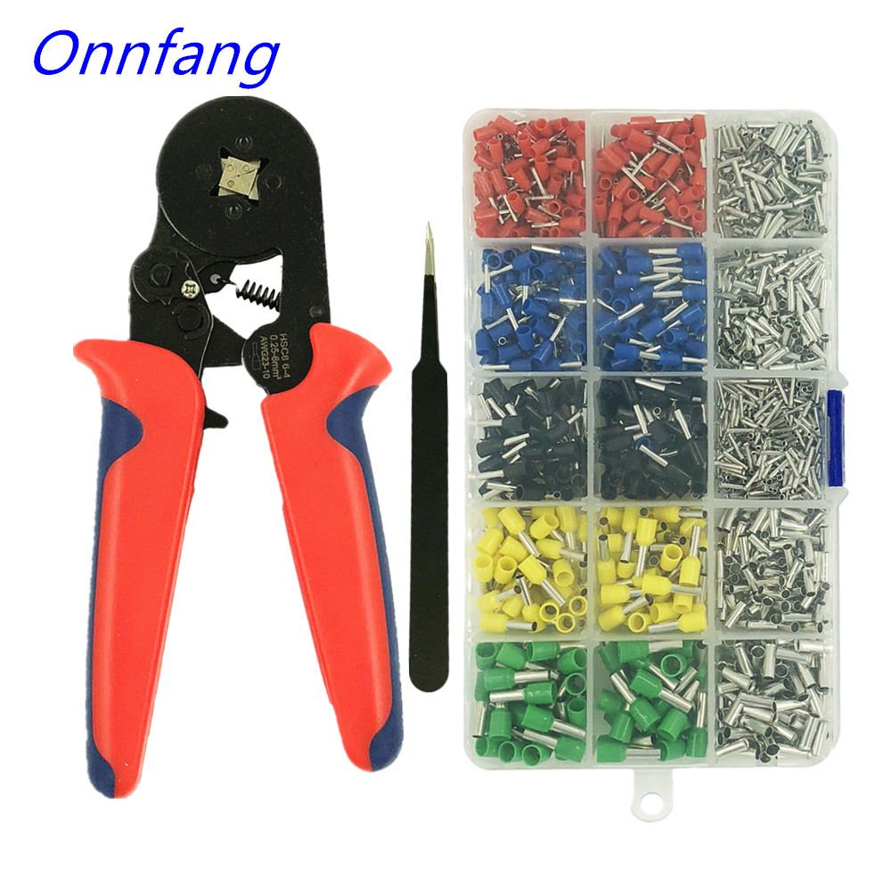 Multi-gauge Wire Crimpling Pliers Set