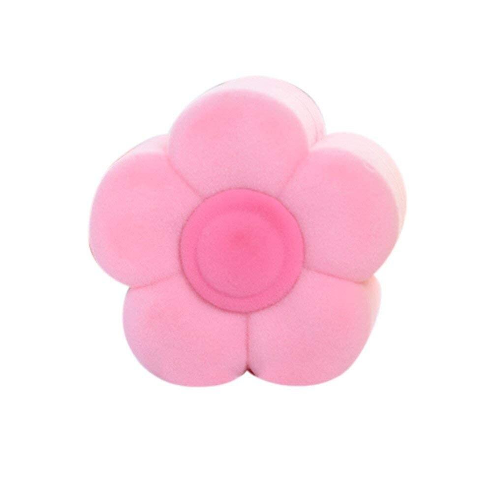Sun Flower Velvet Valentine Love Gift Ring Necklace Earring Box Jewelry Case