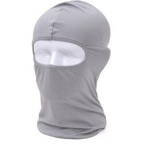 Image 5 - Faroonee גרב לנשימה מהיר יבש ראש כיסוי אופנוע טקטי צבאי צבא קסדה כובע כובעי להגן על מסכה מלאה