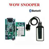 2019 best relay WOW CDP SNOOPER V5.008 R2 + keygen TCS CDP Pro Plus with Bluetooth USB as multidiag OBD for cars trucks Free ship