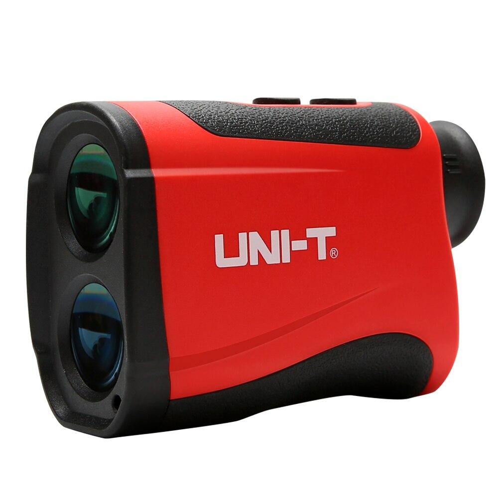UNI-T telescope laser distance meter range finder rangefinder hunting Golf monocular 600-1200m trena laser measure Diastimete 1200m powerful 6x25mm long distance measure 1200m golf laser range finder