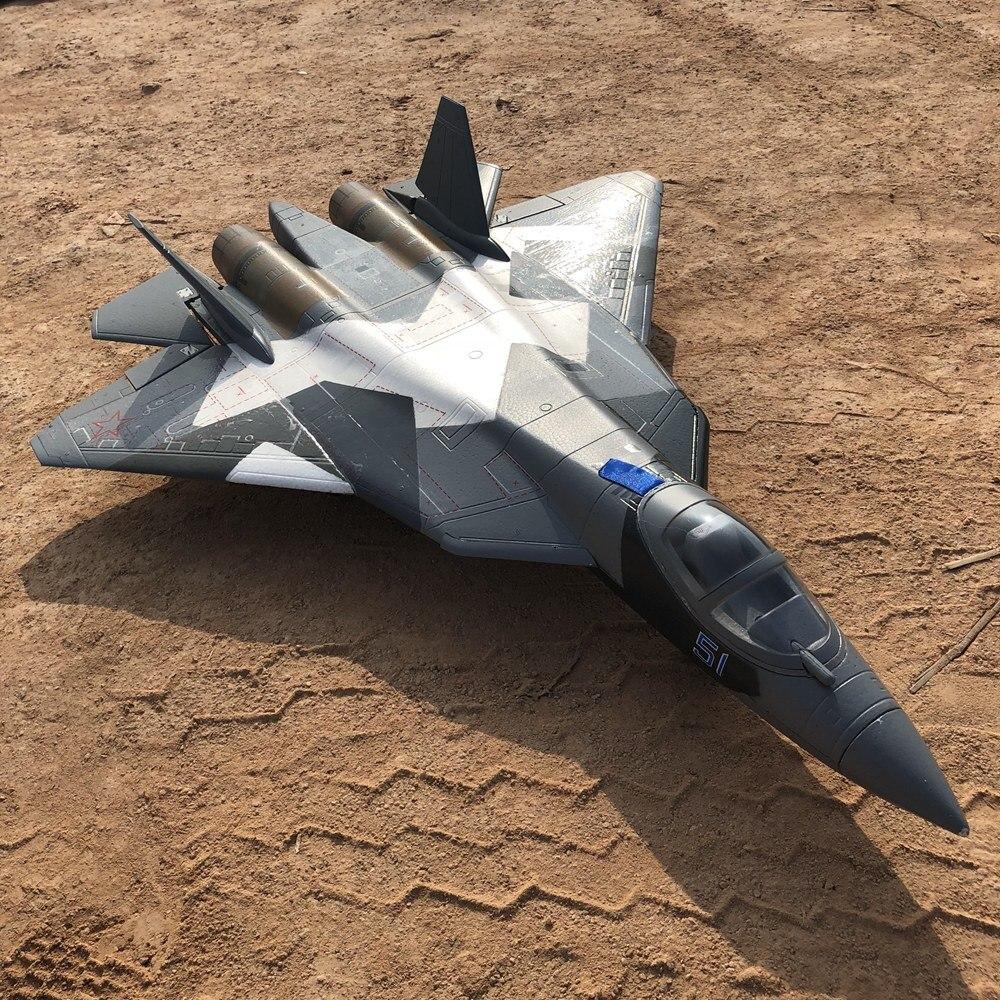 Dual 50mm EDF toy rc plane hobby T50 T-50 EDF jet model EPO RTF ready to  fly, NO battery version