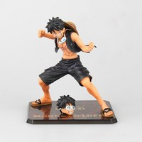 Anime Een Stuk Film Goud Ver. aap D Luffy Zwart Battle Suit PVC Action Figure collectible model toys brinquedos gift