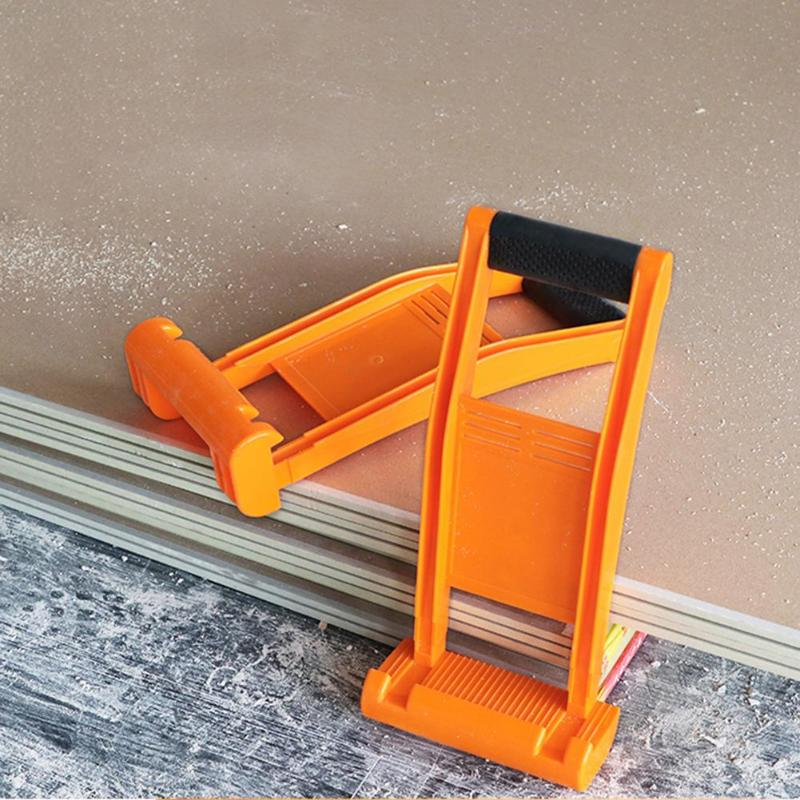 Handling Board Gypsum Board Floor Extractor Carry Tile Tools Lifter Plasterboard Panel Carrier 80KG Load Lifting Tool