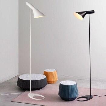 Nordic creative bedroom lamp living room lamp vertical lamp personal bed led floor light