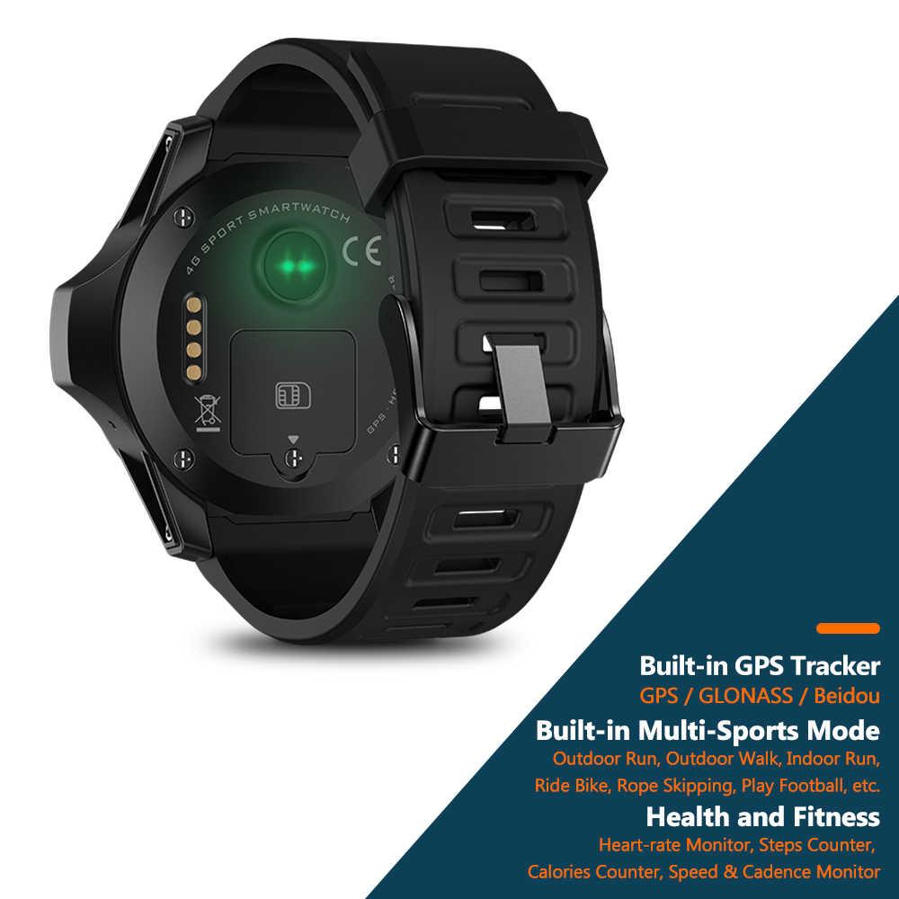"""Новинка; лучший образец Zeblaze Тор 5 двойной Системы Гибридный Smartwatch 1,39 """"AOMLED Экран 454*454p x 2 ГБ + 16 Гб 8.0MP Фронтальная камера Смарт-часы"""