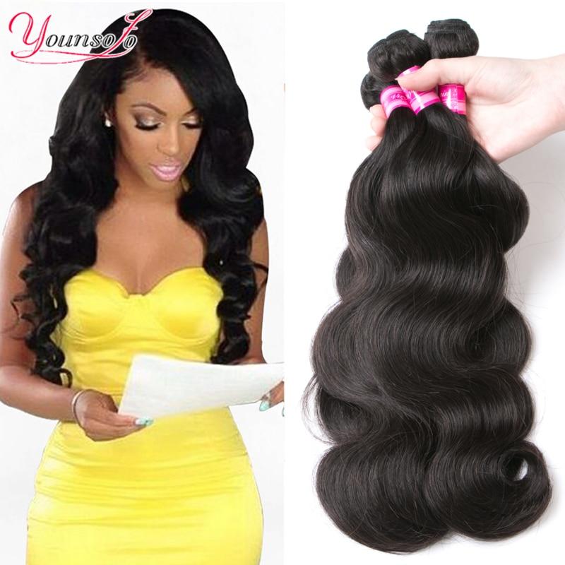 Brazilian Virgin Hair 3 Bundles Brazilian Human Hair Sew ... - photo#28