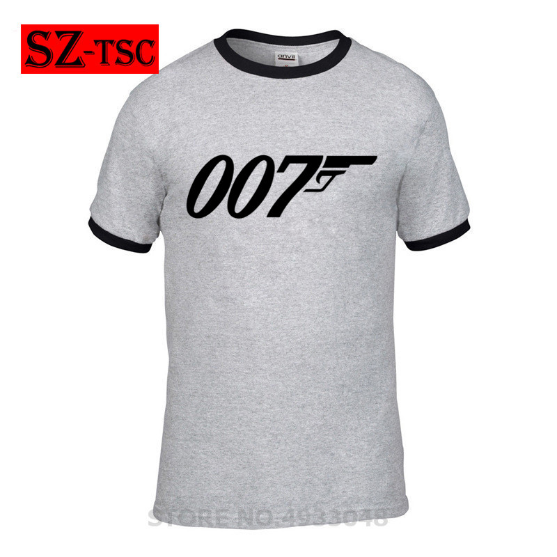 007 Legend Bond T Shirt Funny letter I don 39 t get older I level up T Shirt Mens Printed Tee Shirt Loose Short Sleeve James Tshirt in T Shirts from Men 39 s Clothing