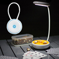 Rechargeable Table Lamp 3 Modes Dimmable Charging Desk Lamp Smart Touch Eyes Protective Folding Night Light Camping lamp