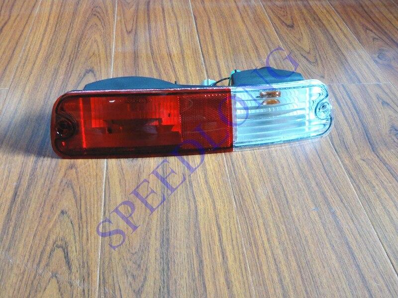 ФОТО 1 PC LH Rear tail bumper bar fog lamp light for Mitsubishi Pajero NP 2002-2006