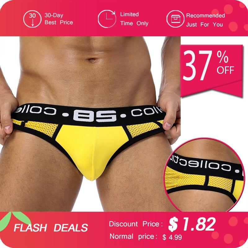 8688e4da775 ٩(^‿^)۶85 Brand Men Underwear Mesh Qucik-Dry Sexy Men Briefs ...