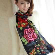 Классический детский хлопковый шарф для женщин и девочек, теплый зимний шарф унисекс