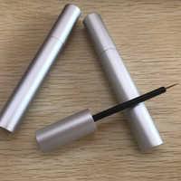 3 ミリリットル化粧空の液体アイライナー詰め替えボトルアプリケーター眉毛エンハンサーまつげ成長血清チューブ容器 200 ピース/ロット