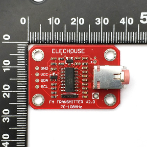 Image 4 - Nadajnik radiowy fm moduł stacja radiowa nadajnika dla modułu