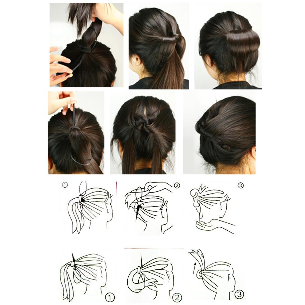 Sensational Aliexpress Com Buy Topsy Tail Hair Braid Ponytail Maker Styling Short Hairstyles For Black Women Fulllsitofus