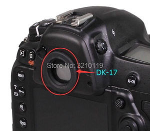 Image 1 - Новинка, задний видоискатель DK17, резиновый окуляр для Nikon D700 D800 D800E D810 D850 D3 D3S D3X D4 D4S D5 DF D500