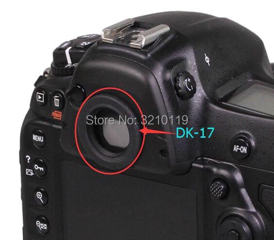 Новинка, задний видоискатель DK17, резиновый окуляр для Nikon D700 D800 D800E D810 D850 D3 D3S D3X D4 D4S D5 DF D500