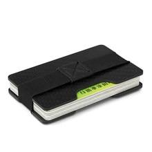 bc10f42737 In Fibra di carbonio Mini Clip Dei Soldi con Cash Morsetto RFID Anti-Ladro  di IDENTIFICAZIONE della Carta di Credito Del Support.