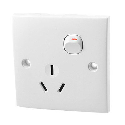AU Outlet Socket Switch Wall Plate New AC 250V 16A AU Plug us au eu plug seat socket 2 gange on off switch wall mount plate ac 250v 10a