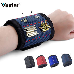 Magnetic Wristband Portable Tool Bag with 3 Magnet Electrician Wrist Tool for Repair