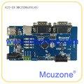 Freescale Kinetis K20DN64VLH5 development Board, 50MHz Cortex-M4, USB OTG, 16Bit ADC, 3UART, TSI