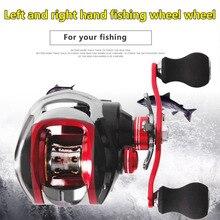 17+1 Axles Fishdrops Fishing Reel 7.0:1 Bait Casting Reels Left/Right Hand Fishing One Way Clutch Baitcasting Reel Accessories
