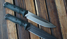 CHRIS REEVE Seal AUS-10A Fixed Blade Tactical Knife Full Tang Straight Knife Hunting Survival knives Gray/white