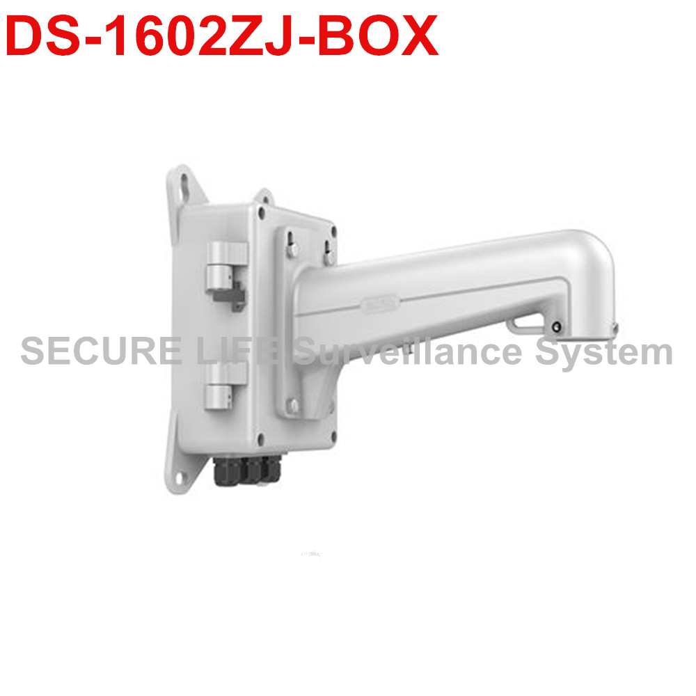 DS-1602ZJ-BOX PTZ camera Wall Mount Bracket with junction box ds 1602zj box corner ptz camera bracket corner mount bracket with junction box