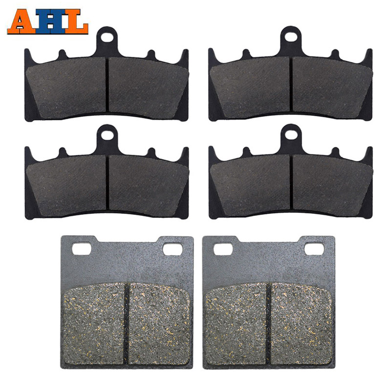AHL Motorcycle Front and Rear Brake Pads For SUZUKI GSXR750 W/T/V/X TL1000 R GSXR1100