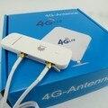 Desbloqueado huawei e3372h-607 4g lte usb dongle de banda ancha móvil módem + 2x crc9 4g antena