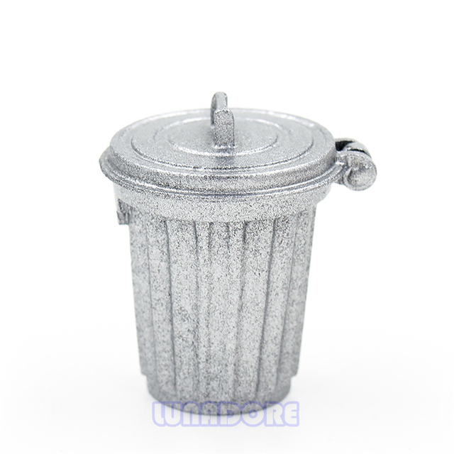 Aliexpresscom Buy Odoria 112 Miniature Trash Can Garbage Bin