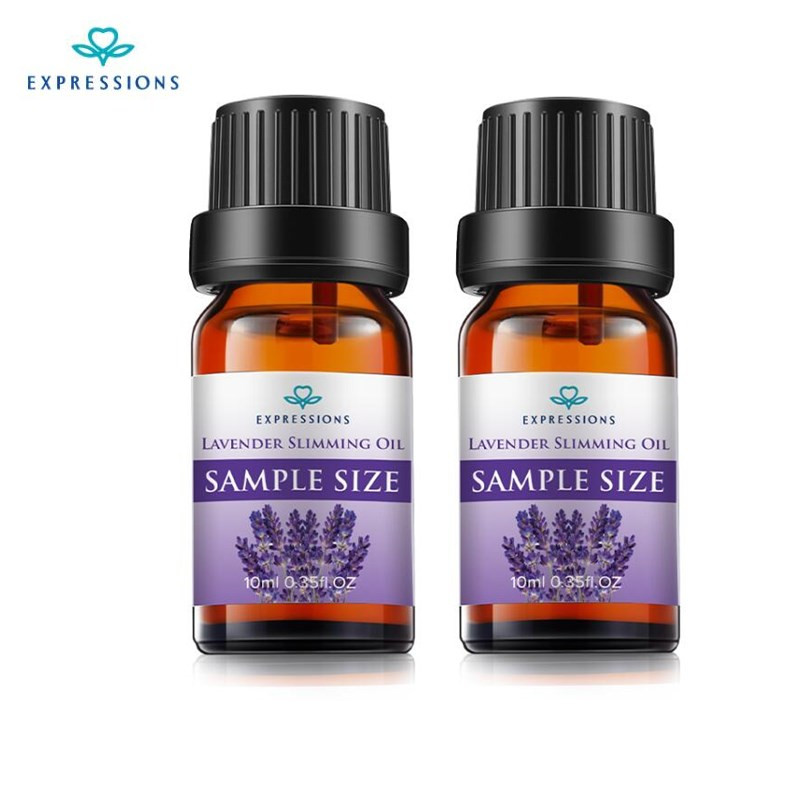 EXPRESSIONS 100% Pure Lavender Essential Oil for Acne Treatment Fade Acne Marks Remove Whelk Shrink Pore Face Care Help Sleep 3