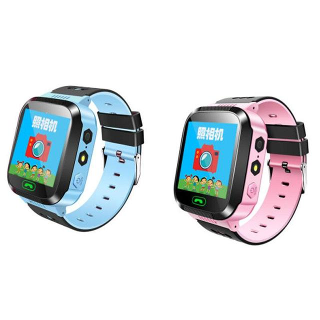 """1.40 """"pulgadas smart kid safe smart watch llamada sos localizador localizador tracker para niño perdido anti monitor de bebé hijo de pulsera"""