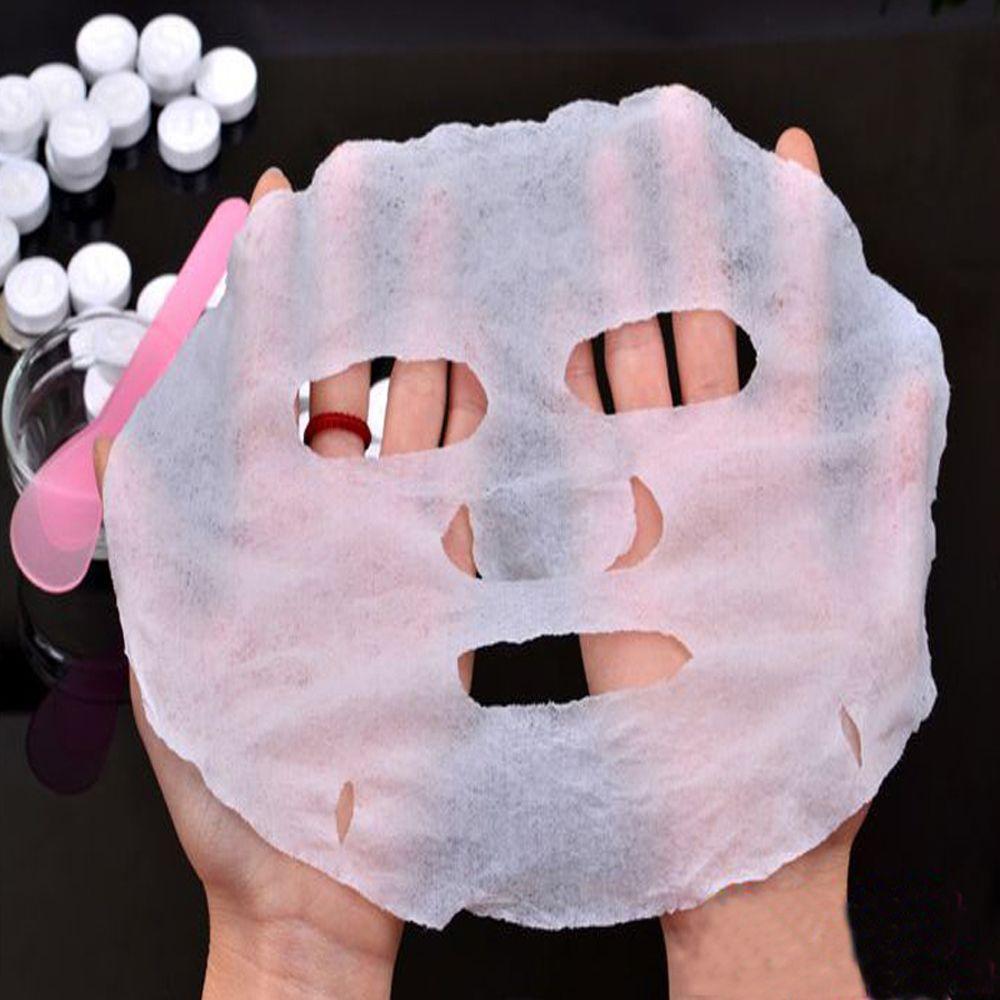 Diy Skin Care: 100 Pcs/pack Compressed Mask DIY Cotton Natural Skin Care