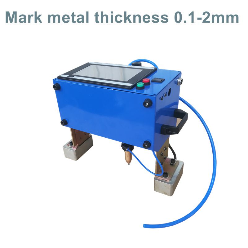 Hot Sale New Small Portable Dot Peen Marking Machine QR Code Marking Machine Engraving Machine For Chassis Number 16040
