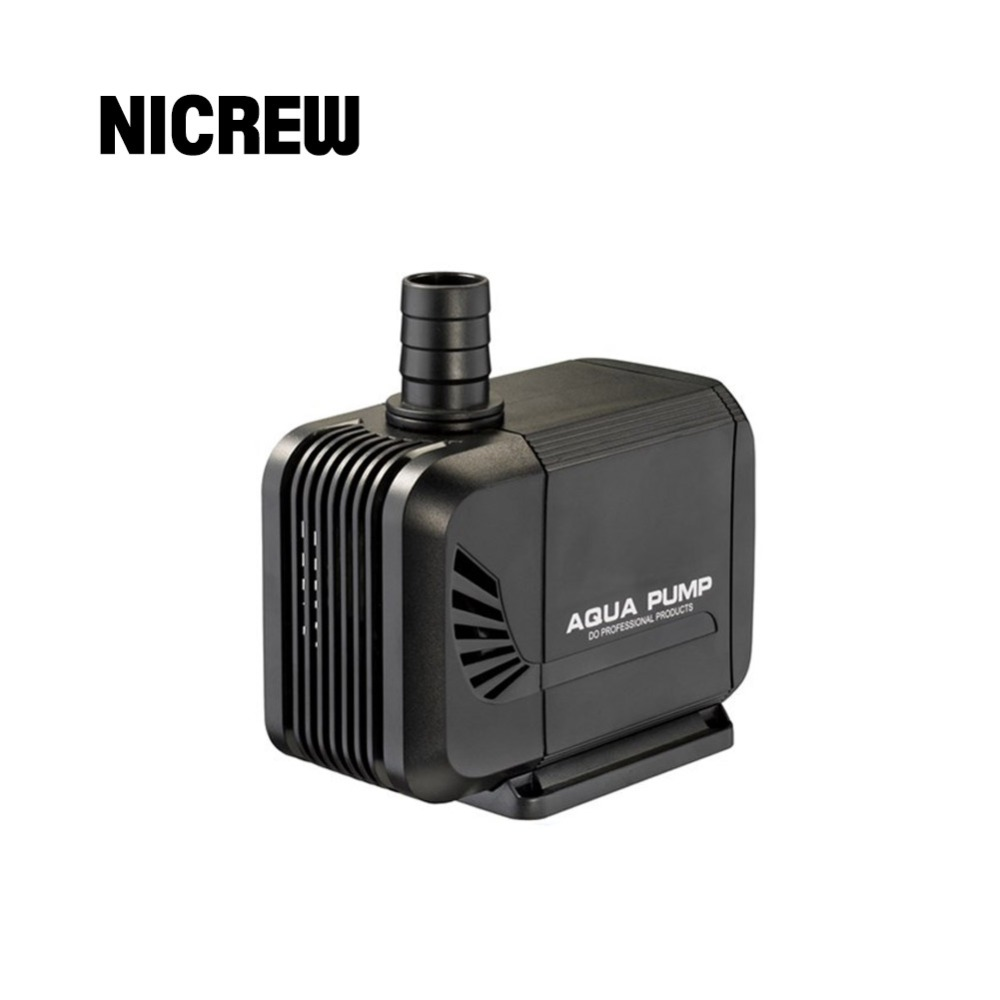 Nicrew 220-<font><b>240V</b></font> 15/35/40W <font><b>Water</b></font> <font><b>Pump</b></font> Waterproof Submersible Aquarium Pond Fish Tank Garden Adjustable Fountain With Power Cord image