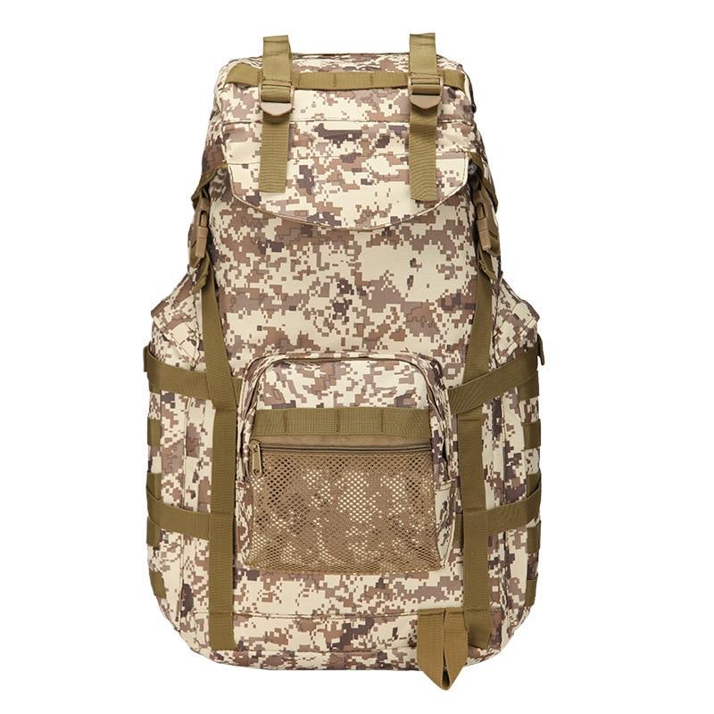 2018 Hot 50L Men Military Backpack Large Capacity Women Mountaineering Backpack Waterproof Camouflage Big Travel Backpacks Bag