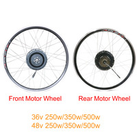 Electric motor wheel 36v/48v high speed brushless gear motor wheel for 202426700C 28Electric Bicycle Conversion Kit