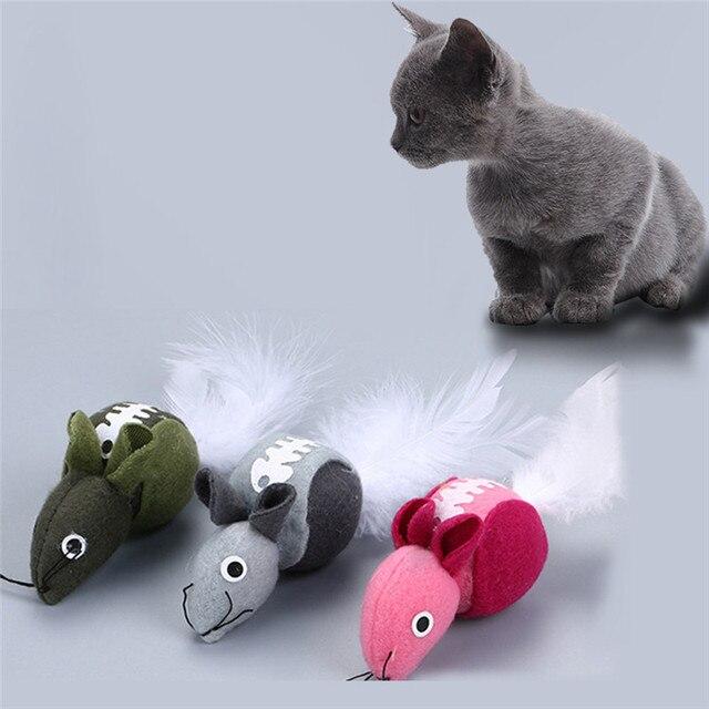 jouet chat menthe