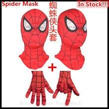 Neue Deadpool Masken Balaclava Zenpool X-Männer Halloween Kostüm Cosplay Partei Headwear Pfeil Haube Vollgesichts Spinne Maske mit handschuhe