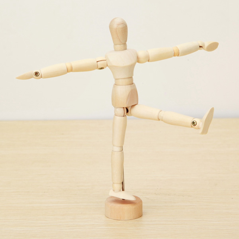 Brand-New-Wooden-Jointed-Doll-Man-Artist-Figures-Model-Painting-Sketch-Cartoon-Blockhead-Jointed-Model-Puppet (3)