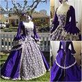 Custom-madeR-088 Pink 19 century Vintage Victorian Gothic Lolita/Civil War Southern Belle Ball Halloween dresses Sz US 6-26