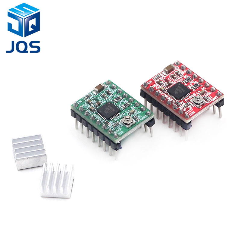 CNC 3D Printer Parts Accessory Reprap Pololu A4988 Stepper Motor Driver Module With Heatsink For Ramps 1.4