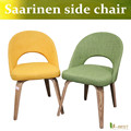 Free shipping U-BEST mid century replica Eero Saarinen executive armless side dining chair with plywood wood legs