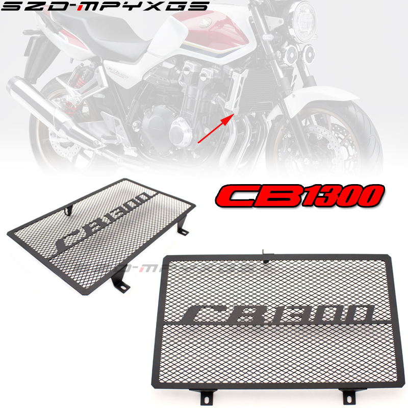 Motorcycle Front Grille Guard Cover Radiator Protector For Honda 03-08 CB1300 CB 1300 2003-2008