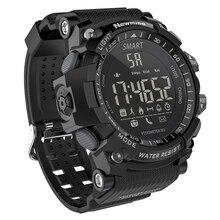 Relógio inteligente Esporte Ao Ar Livre À Prova D' Água de Natação Pedômetro iOS Smartwatch Bluetooth Longa espera Telefone Foto Informações de Alerta Remoto