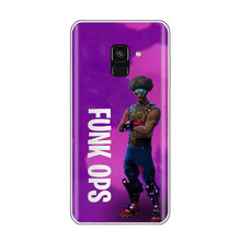 Battle royale Raven Omega phone Case For SamSung S8 S9 Plus S6 S7 edge S5 A52017 A6 2018 Dark Voyager Silicone Soft TPU Cover