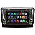 Octa/Quad Core Android Fit SKODA Rápida 2013 2014 2015 2016 Car DVD Player GPS de Navegação 3G Radio