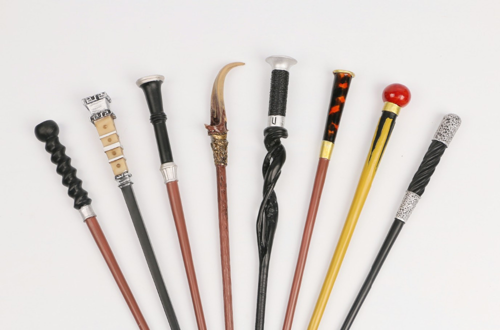 2019 Newest Colsplay  Metal HP Fantastic Beasts Of The Crimes Of Grindelwald Dumbledor Theseus Scamander Magical Wand